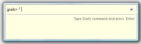 Console Grails dans Spring Tools Suite